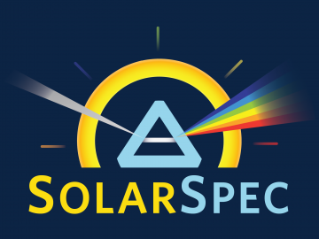 Group logo for the Solar Energy Conversion and Spectroscopy (SolarSpec) laboratory, headed by Robert Godin at UBC Okanagan.